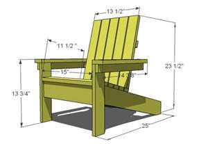 woodwork large adirondack chair plans pdf plans