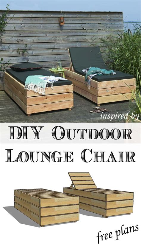 remodelaholic diy reclining outdoor lounge chair