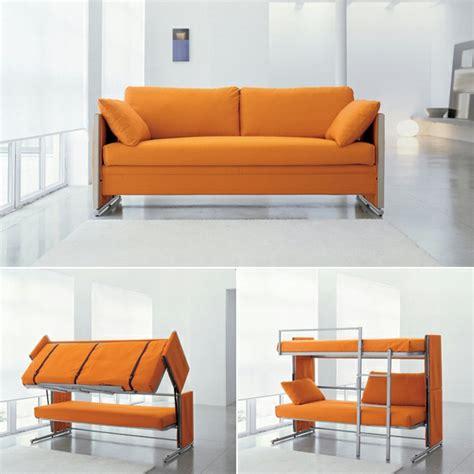 canapé lit superposé le canapé lit design est joli et intelligent archzine fr