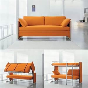Le canape lit design est joli et intelligent archzinefr for Tapis jaune avec lit rabattable avec canapé