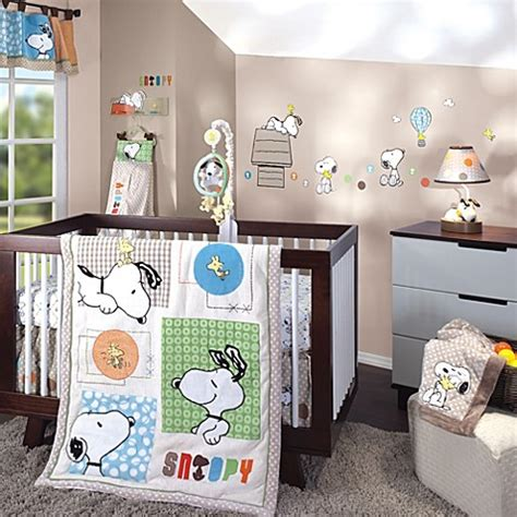 lambs ivy bff snoopy crib bedding collection buybuy baby