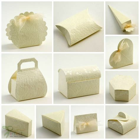 luxury diy wedding party favour boxes macrame lacy lace