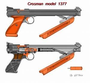 Crosman Airgun Forum  New   Cross Section Diagram Of 2240