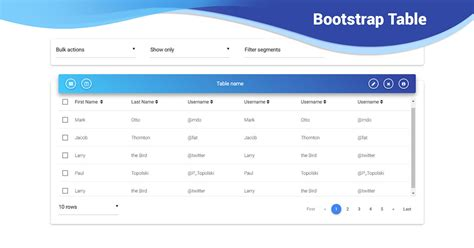 bootstrap table examples tutorial basic advanced