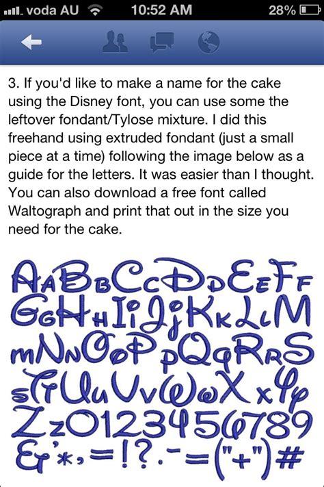 disney font baking tips pinterest disney fonts