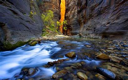 Stream Wallpapers Mountain Trout Desktop Themes Backgrounds