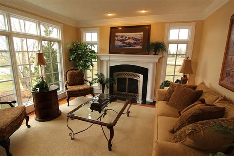 Living Room Fireplace :  Tips For Keeping Warm In Style