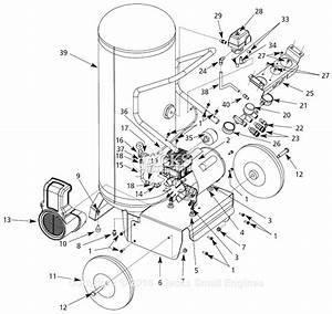 Campbell Hausfeld Wl8027 Parts Diagram For Air