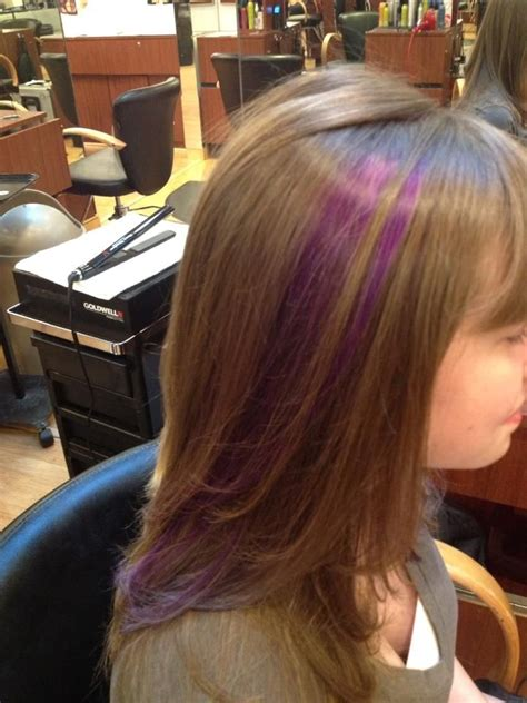 Streaks For Kids Hair By Suzanne In 2019 Pinterest