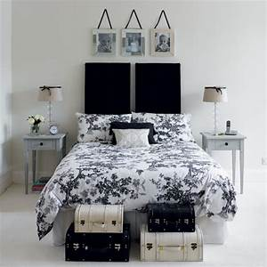 black and white bedrooms chic classy With black and white bedroom decor