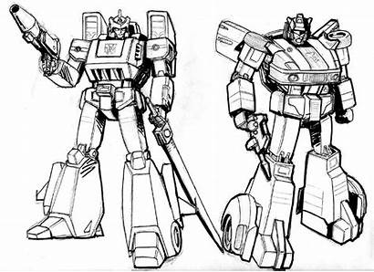 Jazz Transformers Coloring Transformer Pages Sketch Springer