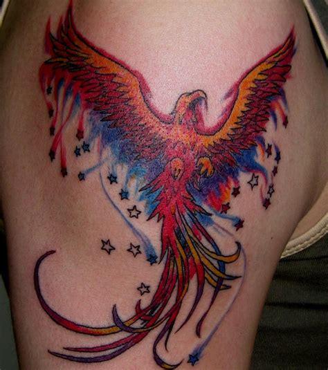 tatouage phoenix  modeles de tatouages pour sinspirer
