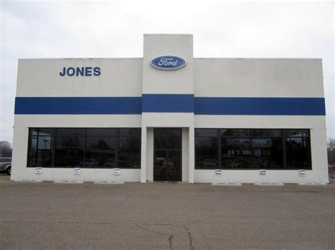 jones ford car dealership  savannah tn