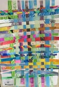 paper weaving projects ideas  newbies