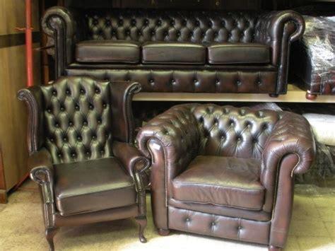 Divani Chesterfield Usati Vintage In Pelle