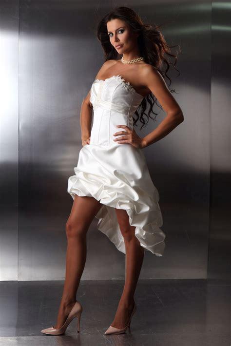 brautkleider kurz die schönsten brautkleider vorne kurz hinten lang bestellen kleiderfreuden