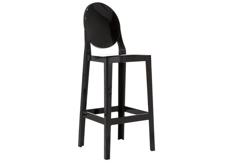 chaise de bar assise 65 cm kartell one more bar stool back barstool by philippe