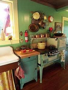 scenic green and blue vintage kitchen cabinet storage also With what kind of paint to use on kitchen cabinets for happy thanksgiving stickers