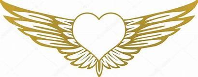 Wings Heart Vector Illustration Hearts Depositphotos Scusi0