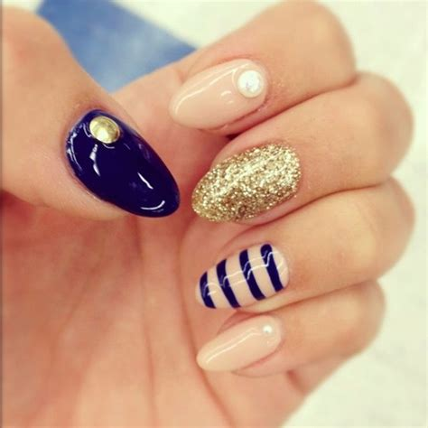almond nails design beautiful for your almond shaped nails be modish