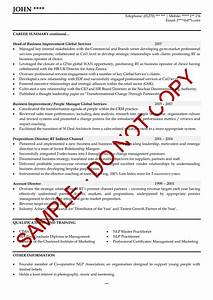 change of career cover letter example executive cv examples the cv store