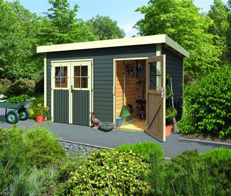 Gartenhaus Mit Raum by Woodfeeling Karibu Holz Gartenhaus Tintrup 2 Raum