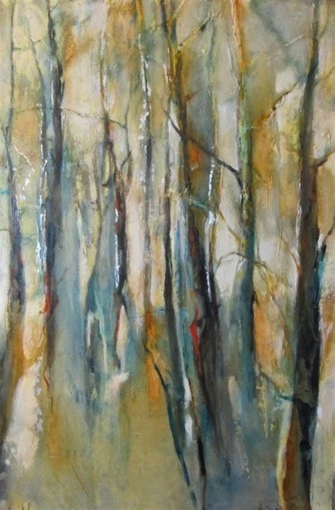 how to paint a l joan fullerton paintings contemporary abstract aspen tree