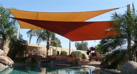 phoenix ls and shades swimming pool shade sails by tenshon llc
