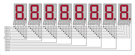 charlieplexing reduced count led display multiplexing application note