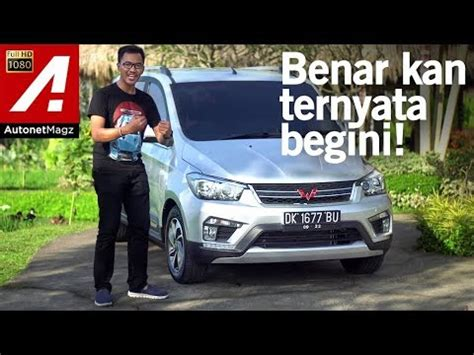 Review Wuling Confero by Wuling Confero S Review Drive Test By Autonetmagz