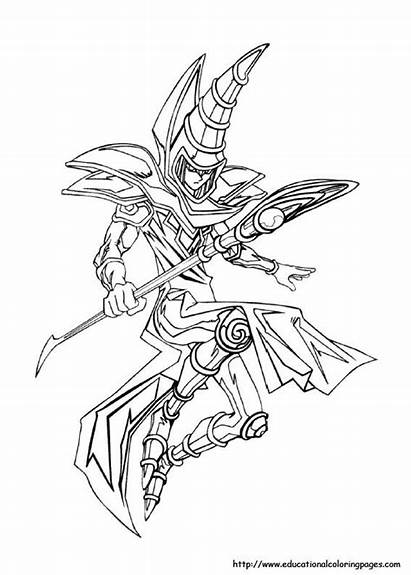 Coloring Pages Dark Magician Tattoos Tattoo Yugioh