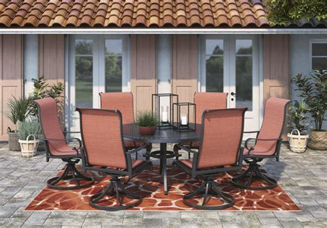 Browse through our selection of ashley furniture items. Signature Design® by Ashley® Appletown Collection 7-Piece Dining Patio Set at Menards®