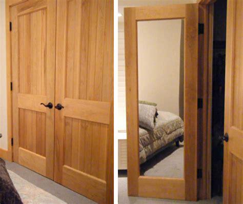 Mirror Doors, Solid Wood Interior Doors With Mirrors