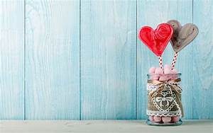 Love Heart Candy Pair Wallpapers