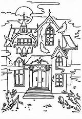 Haunted Coloring Mansion Castle Printable Halloween Scary Sheets Disney Houses Cartoon Clipart Colouring Spooky Bestcoloringpagesforkids Sheet Adult Sound Google Crow sketch template
