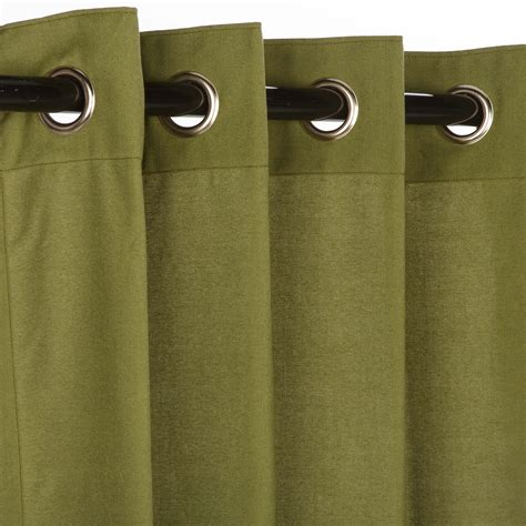 sunbrella curtains with grommets canvas turf grommet sunbrella outdoor curtains