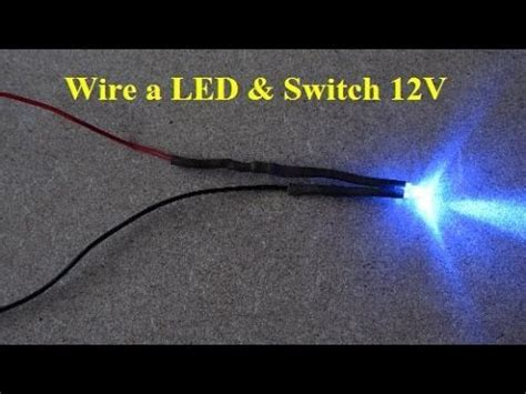 led車のdiy how to wire car led and switch 12v make