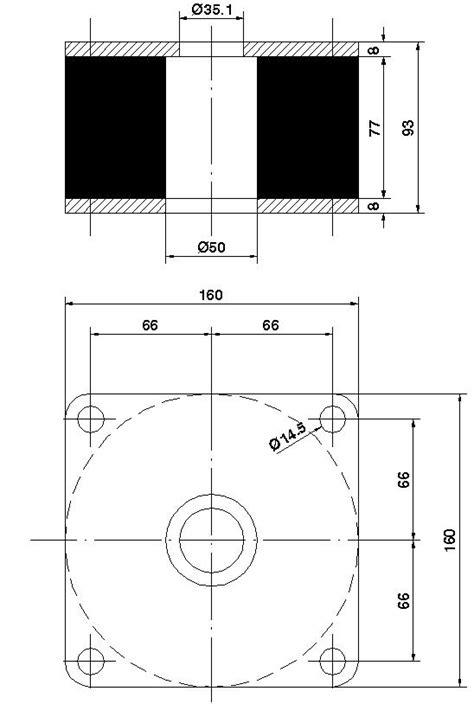 Soporte P - P Mount - Elastic Mounts - Catalog - - Egaña
