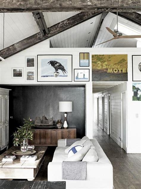 distressed rustic living room design ideas  inspire
