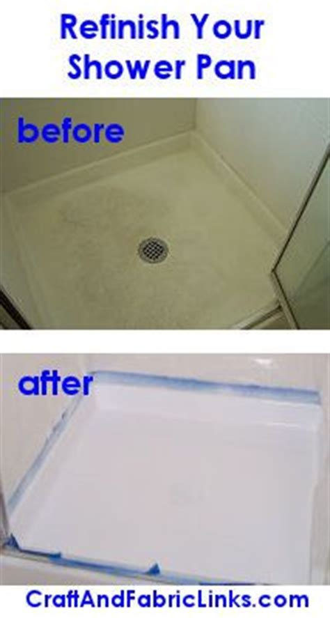 refinish  fiberglass shower pan
