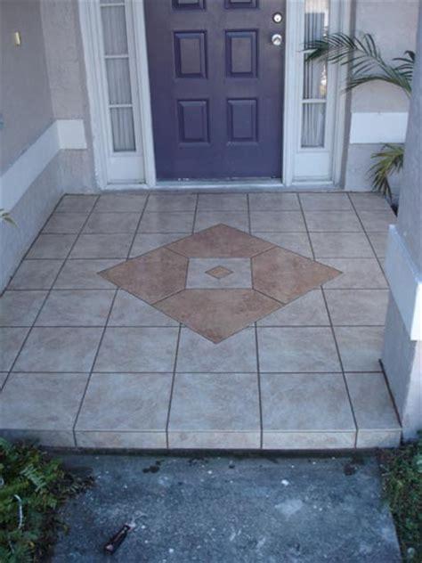 new pics front entry tek tile custom tile designs