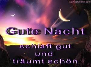 Schöne Gute Nacht Sprüche : schlaf gut bilder schlaf gut gb pics gbpicsonline ~ Udekor.club Haus und Dekorationen