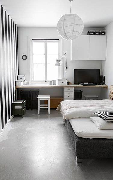 chambre atypique noir et blanc graphique pour une chambre d 39 ado atypique