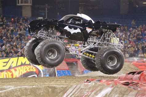 batman monster truck videos monster jam is coming to kansas city family pack giveaway