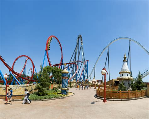 portaventura parc d attractions portaventura world