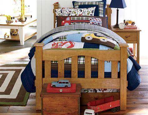 I Love The Pottery Barn Kids Construction Bedroom On