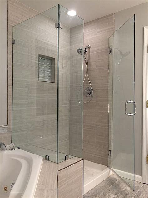 Frameless Corner Shower Enclosures