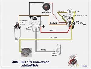 Ford 8n Ignition Wiring Diagram  U2013 Vivresaville Com