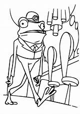Frog Coloring Pages Books Frankle Frogs Printable Animals Preschoolers Parentune Worksheets sketch template