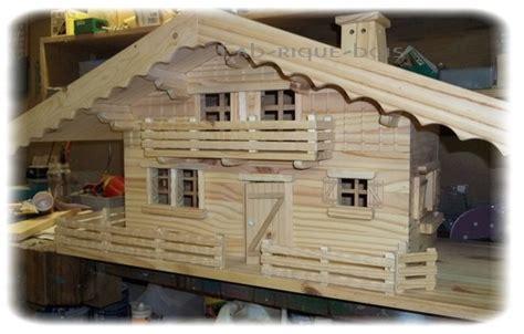 chalet alpin miniature fab rique bois overblog